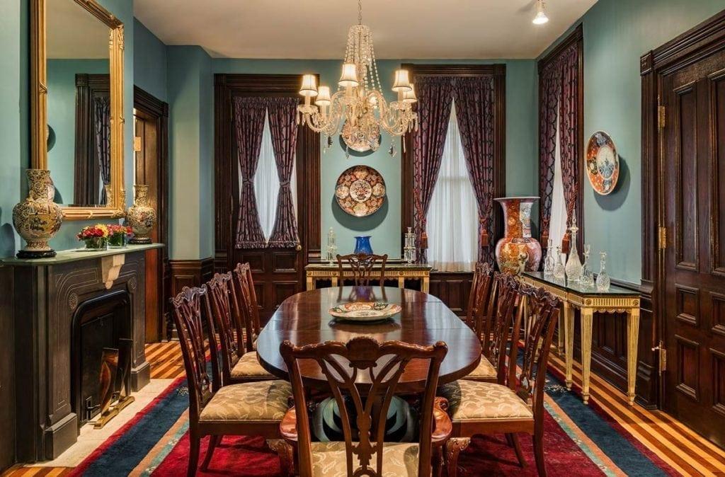 Inn at 97 Winder formal dining