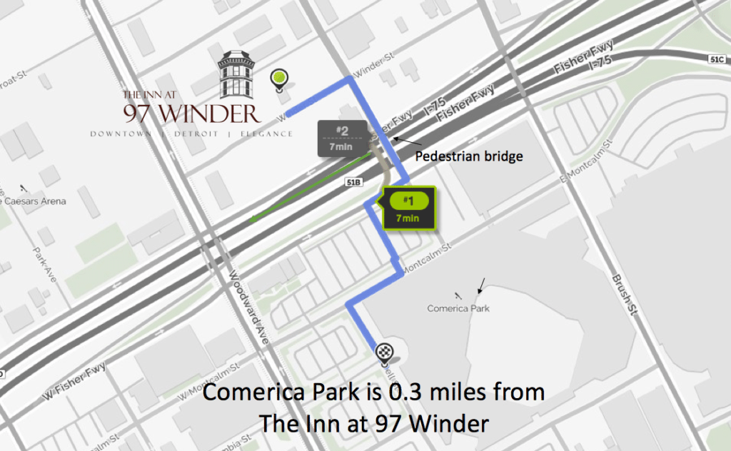 Hotel Closest to Comerica Park | Inn at 97 Winder | Downtown ...