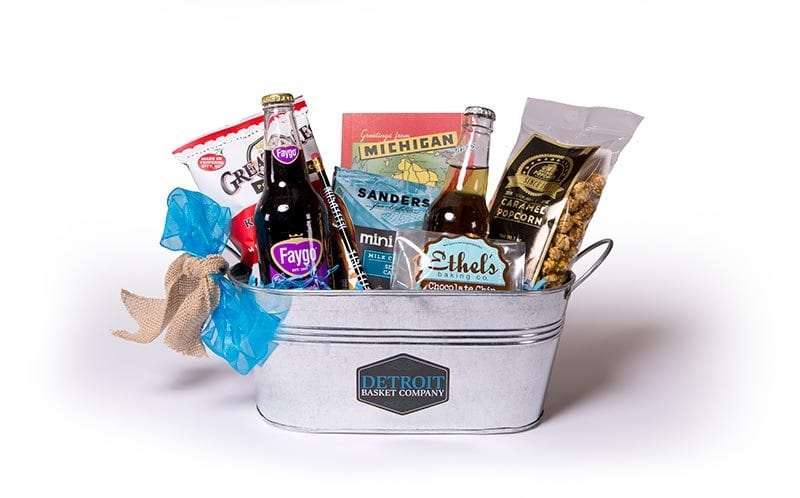 The Brush Park Gift Basket- The Inn at 97 Winder