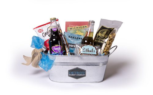 The Brush Park gift basket