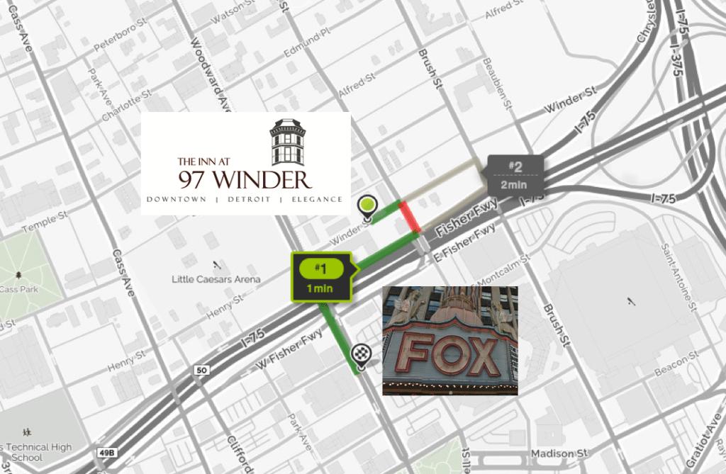 Fox Theatre near The Inn at 97 winder