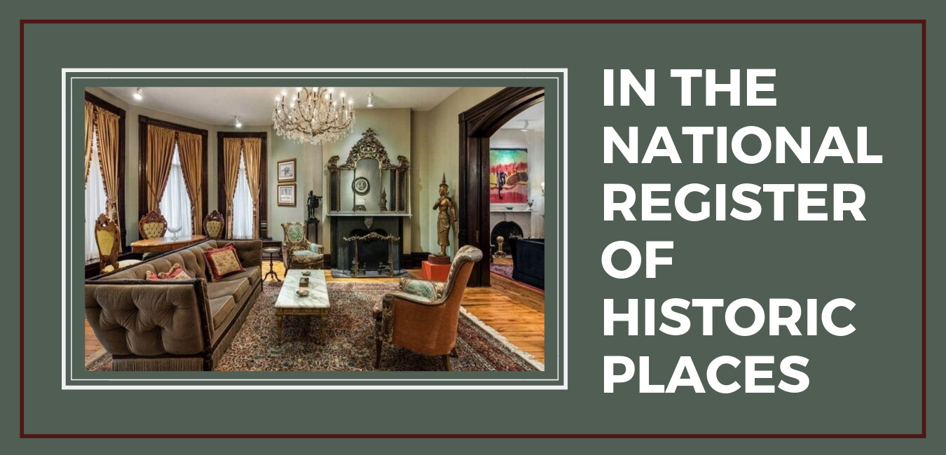 IN THE NATIONAL REGISTER OF HISTORIC PLACES